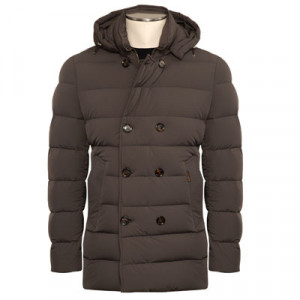 Moorer Peacoat Florio-KN Taupe