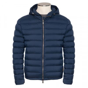 Moorer Downcoat Cataldi-S3 Blue