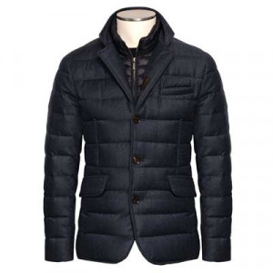 Moorer Down Jacket Nomos-FF Blue