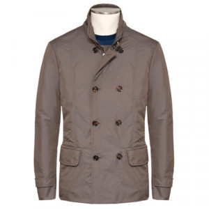 Moorer Pea-Coat Nabucco-KM Dove Grey
