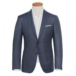 Pal Zileri Jacket Blue Honeycomb