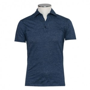 Pal Zileri Linen Polo Blue