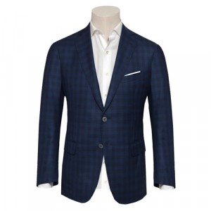 Pal Zileri Jacket Blue-Navy Check