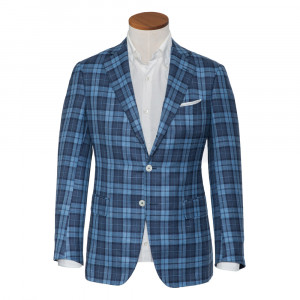 Pal Zileri Jacket Blue Check