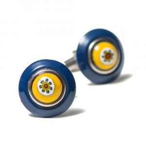 Pal Zileri Cufflinks Yellow