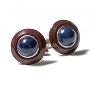 Pal Zileri Cufflinks Burgundy