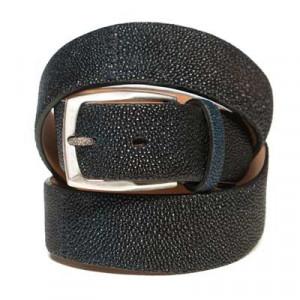Paolo Vitale Belt Stingray Blue-Brown