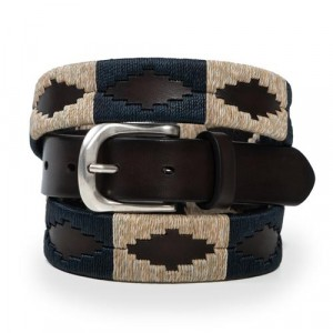 Paolo Vitale Argentinian Polo Belt Brown