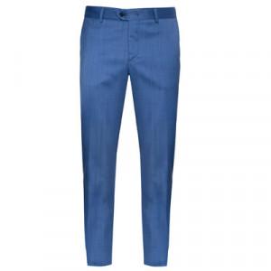Marco Pescarolo Woolen Trousers Blue