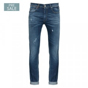 Re-Hash Destroyed Jeans Blue