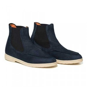 Andrea Ventura Sailor Boot Blue