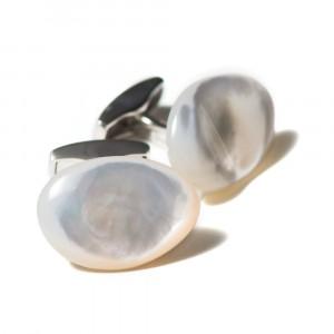 Tateossian Gemelli Silver