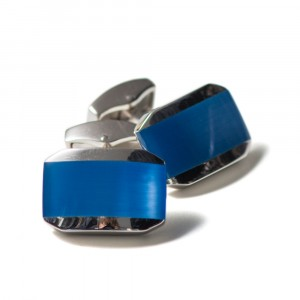 Tateossian Cufflinks Blue