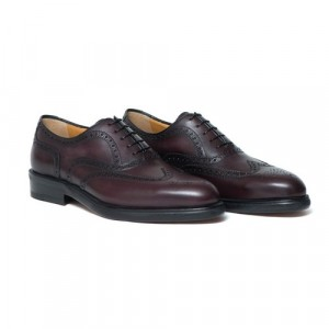 Testoni Oxford Burgundy