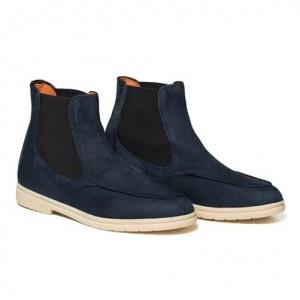 Andrea Ventura Sailor Boot Blue
