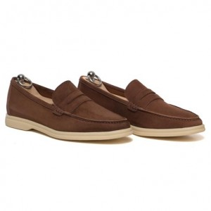 Andrea Ventura Penny Loafer Brown