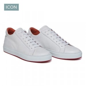 Andrea Ventura Sneaker Leather White