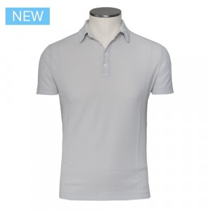 Zanone Ice Piquet Polo Grey