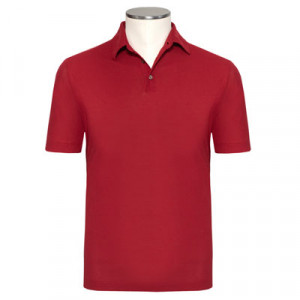 Zanone Ice-Cotton Polo Red