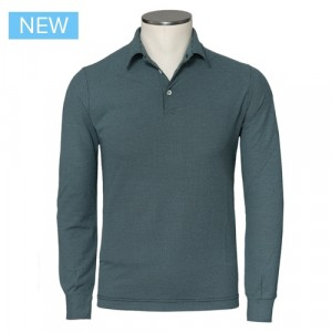 Zanone Ice Cotton Polo Green