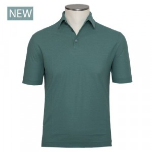 Zanone Ice-Cotton Polo Green