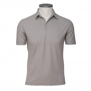 Zanone Ice Cotton Polo Sand
