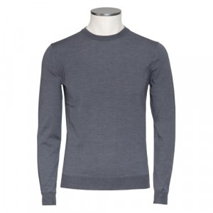 Zanone Crewneck Flexwool Grey