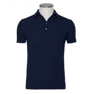 Zanone Ice-Piquet Polo Blue