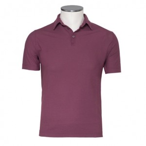 Zanone Ice-Cotton Polo Burgundy