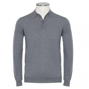 Zanone Polo Flexwool Grey