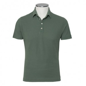 Zanone Ice-Piquet Polo Green