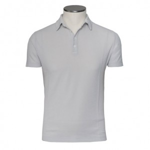 Zanone Ice-Piquet Polo Grey