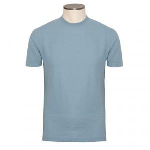 Zanone Ice-Cotton T-shirt Light Blue