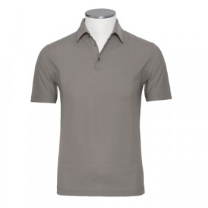 Zanone Ice Cotton Polo Taupe