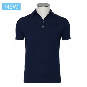 Zanone Ice Piquet Polo Blue