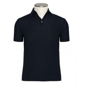 Zanone Ice-Cotton Polo Dark-Navy
