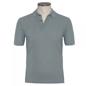 Zanone Polo Ice-Piquet Grey