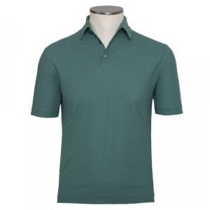 Zanone Ice-Cotton Polo Green