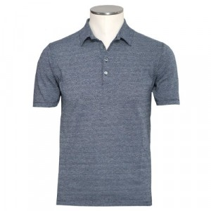 Zanone Polo Short Sleeve Fantasy Navy