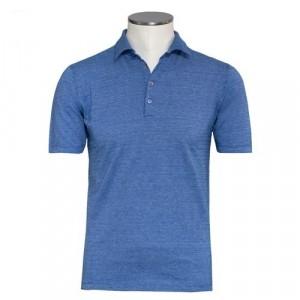 Zanone Polo Short Sleeve Fantasy Blue
