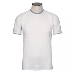 Zanone Cotton Tee White