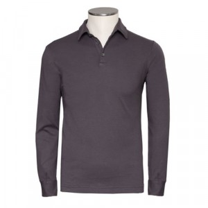 Zanone Polo Pima Cotton Grey