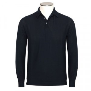 Zanone Ice-Cotton Longsleeve Dark-Navy
