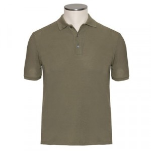 Zanone Polo Ice-Pique Olive Green