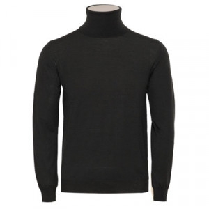 Zanone Roll Neck Flexwool Green
