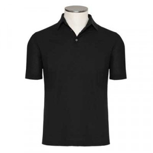 Zanone Ice-Cotton Polo Black