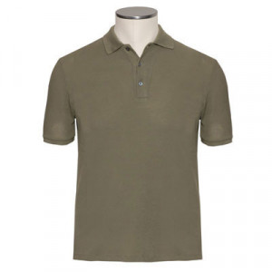 Zanone Ice-Piquet Polo Olive Green