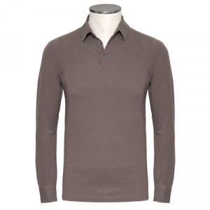 Zanone Polo Pima Cotton Beige