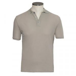 Zanone Polo Ice-Piquet Stone Grey