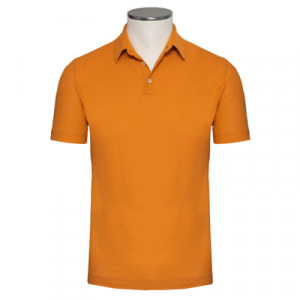 Zanone Ice-Cotton Polo Apricot